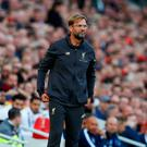 Liverpool manager Juergen Klopp during the match