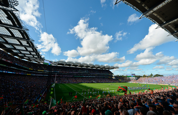 'We came away from last year's All-Ireland football final hopeful that the example of those two great teams might begin the process of saving Gaelic football'. Photo: Sportsfile
