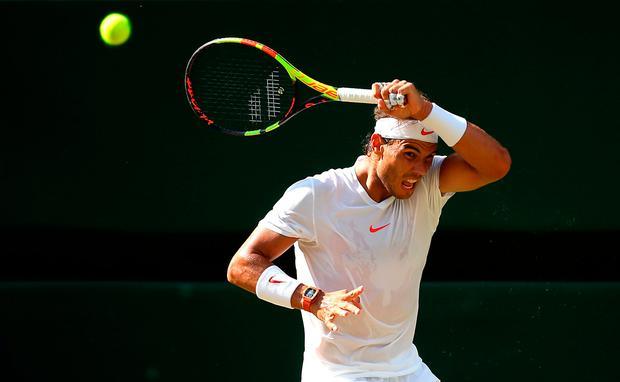 Nadal through to round two after Ferrer retires