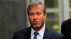 Abramovich rejected a £2bn bid for his club earlier this year from Britain's richest man, Jim Ratcliffe, the boss of petrochemicals giant Ineos. Photo: Reuters