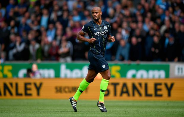 Vincent Kompany. Photo by Stu Forster/Getty Images