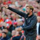 Klopp estimated Liverpool take or defend around 50 throw-ins per match, so it was worthwhile analysing every detail of his team's performance going into a new season. Photo: Reuters/Peter Powell