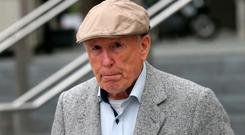 Michael Shine was convicted last year of assaulting two schoolboys in the 1970s. Picture: Collins