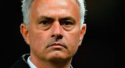 Manchester United manager Jose Mourinho. Photo: AFP/Getty Images