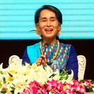 Criticised: Aung San Suu Kyi. (AP Photo/Aung Shine Oo)
