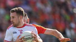 Niall Sludden's patience has paid off for Tyrone. Photo: Matt Browne/Sportsfile