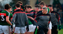 Where do the Mayo players stand on the departure of Stephen Rochford? Photo: Sportsfile