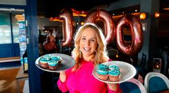 Gourmet Food Parlour's Managing Director Lorraine Heskin pictured at today's launch