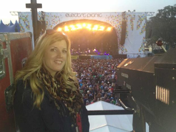 Deirdre Crookes at Electric Picnic