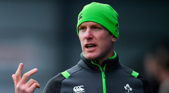 Former Ireland and Munster captain Paul O'Connell will spend at least the next two years working as Stade Francais' forwards coach. Photo: Ramsey Cardy/Sportsfile