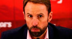 """Southgate: """"I can't rule out picking players in the Championship because our pool is getting smaller."""" Photo credit: Aaron Chown/PA Wire"""