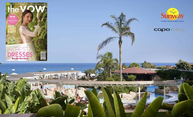 Win a Sunway Holidays honeymoon in Capo Bay with THE VOW magazine