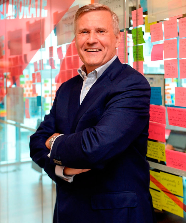 Alastair Blair, country managing director for Accenture Ireland, at the firm's Hanover Quay offices. Photo: Caroline Quinn.
