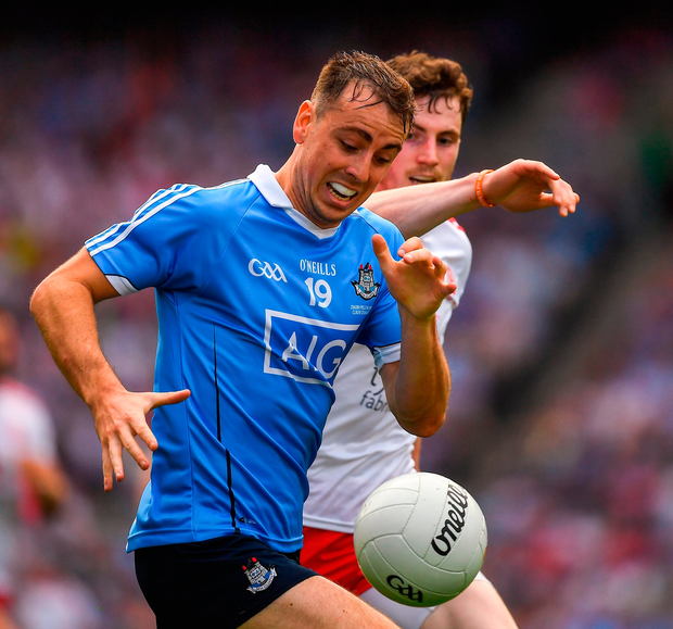 'Costello must be the first replacement ever to be in line for Footballer of the Year.' Photo by Ray McManus/Sportsfile