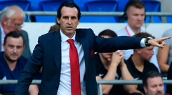 Arsenal manager Unai Emery. Photo: Rebecca Naden/Reuters