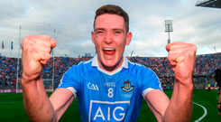 2 September 2018; Brian Fenton of Dublin after the GAA Football All-Ireland Senior Championship Final match between Dublin and Tyrone at Croke Park in Dublin. Photo by Ray McManus/Sportsfile
