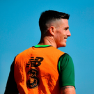 Ciaran Clark will allow Rice to make his decision and would welcome him back. Photo by Stephen McCarthy/Sportsfile