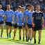 2 September 2018; Dublin captain Stephen Cluxton leads the team in the pre match before the GAA Football All-Ireland Senior Championship Final match between Dublin and Tyrone at Croke Park in Dublin. Photo by Ray McManus/Sportsfile