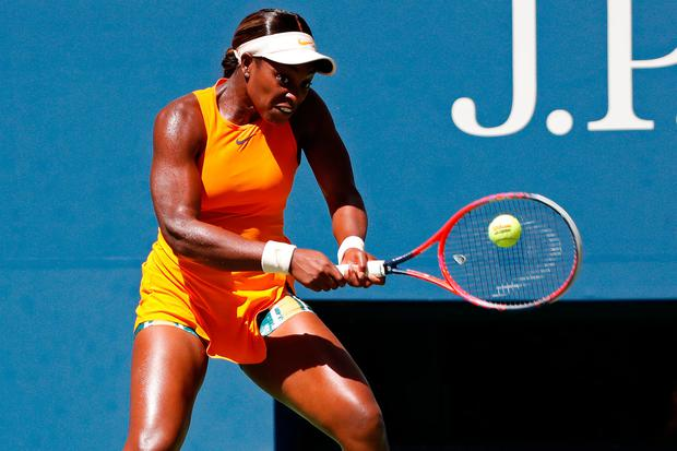 OUT: Sloane Stephens. Photo: Geoff Burke-USA TODAY Sports