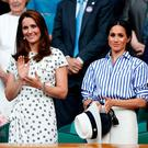 The Duchess of Cambridge (left) and the Duchess of Sussex. Kate, rather than royal newcomer the Duchess of Sussex, had the biggest impact on shopping habits, according to eBay's annual UK Retail Report