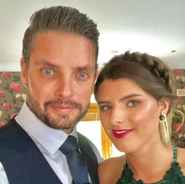 Keith Duffy and his daughter Mia (18) at her school graduation. Photo: Instagram