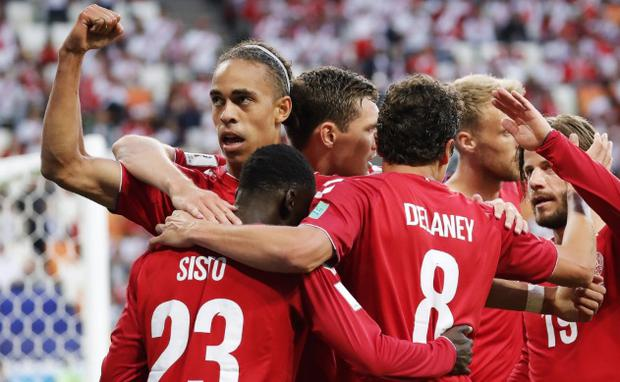 None of Denmark's World Cup players look likely to feature this week CREDIT: GETTY IMAGES