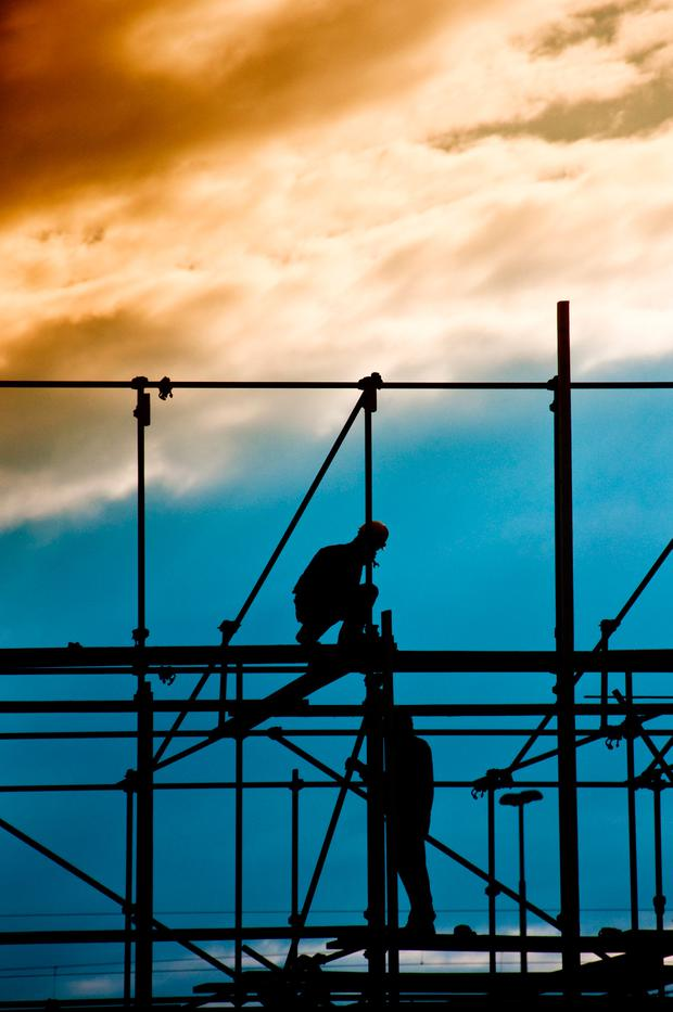 Construction supplied more than a fifth of the new jobs created in the 12 months – and will have to supply a lot more if aspirations for housing and infrastructure are to be met. Photo: Igor Stevanovic