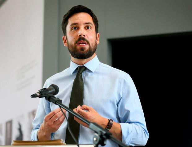 Support: Housing Minister Eoghan Murphy. Photo: Frank McGrath