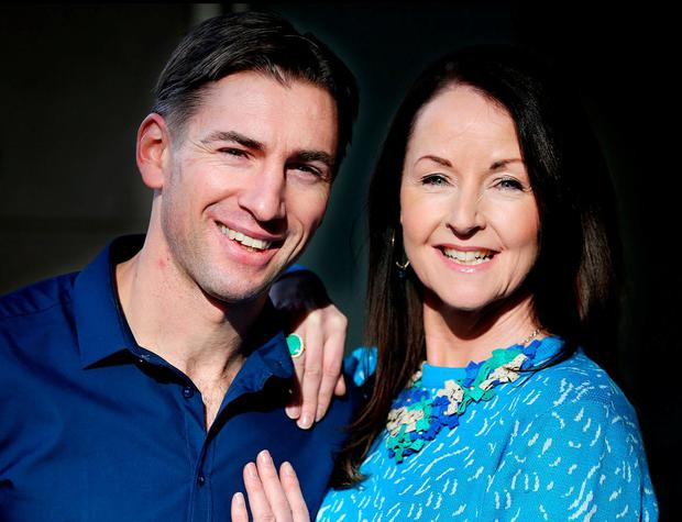 Personal trainer Dominic Munnelly and health and wellness expert Grainne Parker believe people need more consistent workouts at a manageable pace. Photo: Steve Humphreys