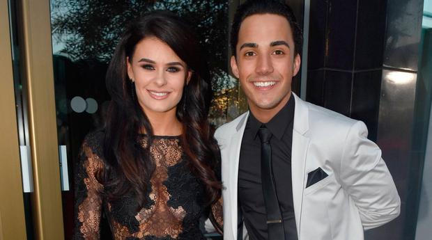 Karen Byrne and Jake Carter at the Peter Mark VIP Style Awards 2018