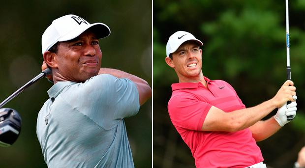 Tiger Woods and Rory McIlroy steal the show in Pennsylvania by shooting sizzling 62s