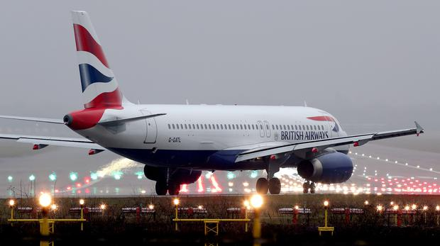 British Airways (Gareth Fuller/PA)