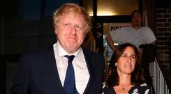 Boris Johnson and his wife Marina Wheeler have announced that they have separated Photo credit: Isabel Infantes/PA Wire