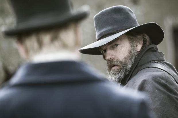 Hugo Weaving in Black 47