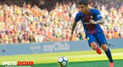 Philippe Countinho stars for Barcelona in PES 2019