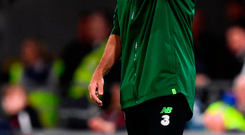 Ireland manager Martin O'Neill looks on against Wales