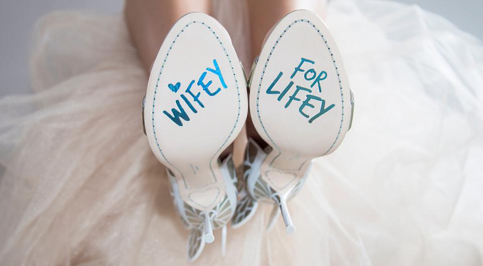 Wifey for Lifey Chiara wedding shoes by Sophia Webster | Photo via sophiawebster.com