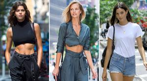 (L to R) Georgia Fowler, Nadine Leopold, Sadie Newman and Kelly Gale will walk in the 2018 Victoria's Secret Fashion Show