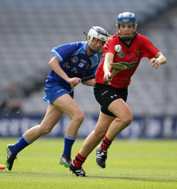 Fionnuala Carr: 'I've won and lost in Croke Park and it's a fantastic place to win. But I lost three (Premier Junior) finals and it's a hard place to lose.' Photo: INPHO