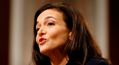 Facebook COO Sheryl Sandberg testifies before a Senate Intelligence Committee hearing on foreign influence operations on social media platforms on Capitol Hill in Washington earlier this week. Photo: Joshua Roberts/Reuters
