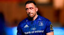 Jack Conan of Leinster following the Guinness PRO14 Round 2 match between Scarlets and Leinster at Parc y Scarlets in Llanelli, Wales. Photo by Stephen McCarthy/Sportsfile