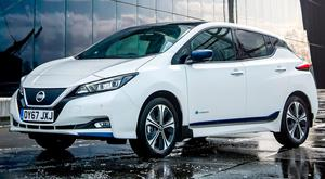 PLUGGED IN: Fast-charging Leaf takes as little as 60 minutes to achieve an 80pc charge