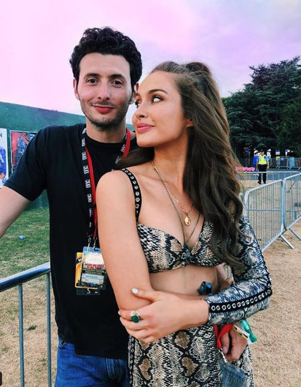 Roz Purcell and boyfriend Zach Desmond. Picture: Instagram