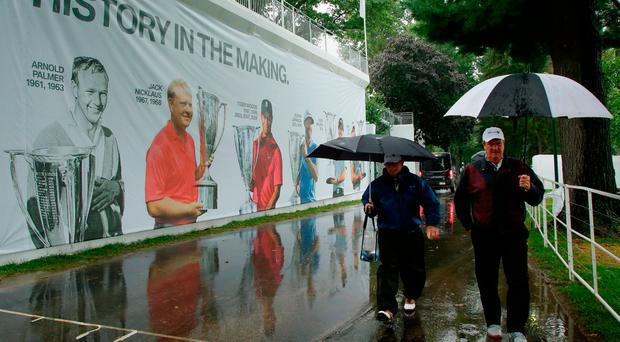 McIlroy made to wait as final round of BMW Championship postponed until Monday due to heavy rain