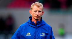 Frustrated: Leo Cullen. Photo: Stephen McCarthy/Sportsfile