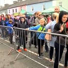A record number of Cillians at Mullagh this weekend PIC: RTE News