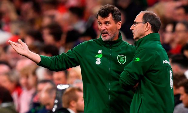A history of bust-ups: Roy Keane has been involved in his fair share of disagreements over the years. Photo: Stephen McCarthy/Sportsfile