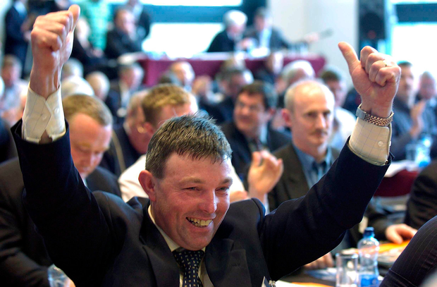 Claim: Joe Queenan said he was led astray by an undercover reporter. Picture: Sportsfile