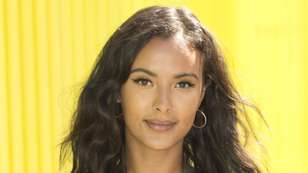 Maya Jama has said social media is both a'gift and a curse' (Isabel Infantes/PA)
