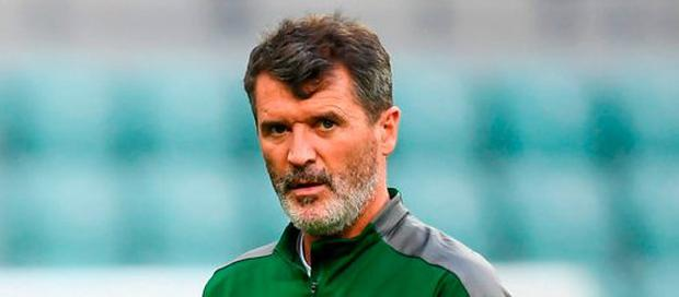Republic of Ireland assistant manager Roy Keane during a Republic of Ireland training session at Municipal Stadium in Wrocław, Poland. Photo by Stephen McCarthy/Sportsfile